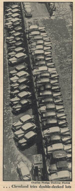 Parking Problems as featured in the October 28, 1946 Newsweek Magazine