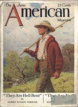 The American Magazine June 1928 cover