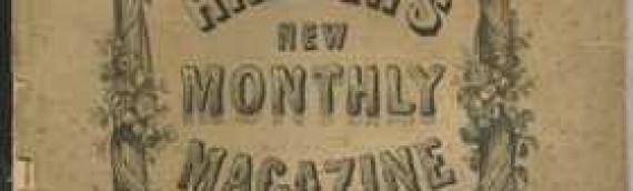 Today in 1857 – Paging Through Harper's Monthly, March 1857