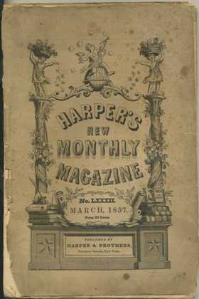 Front Cover March 1857