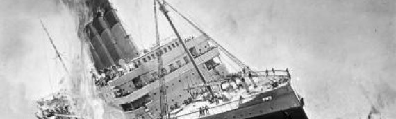 What Sank the Lusitania? from The Scientific American May 29, 1915