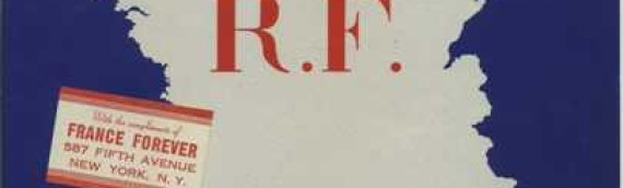 Free France – A Fortnightly Bulletin Published in NY During WWII