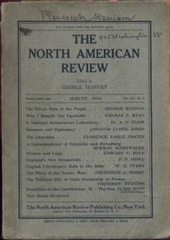 August 1913 issue of the North American Review