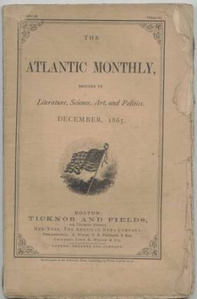 December 1865 issue of The Atlantic Monthly