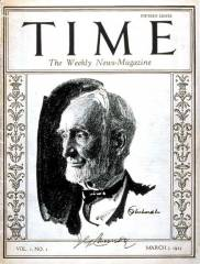 First Issue of Time Magazine March 3, 1923