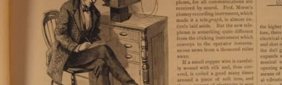 Morse and the Telegraph This Date in 1838; Plus 1877 Magazine with Alexander Graham Bell