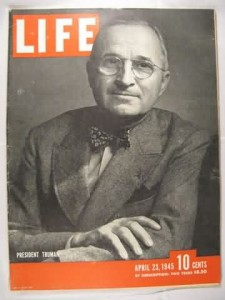 Harry S Truman April 23, 1945