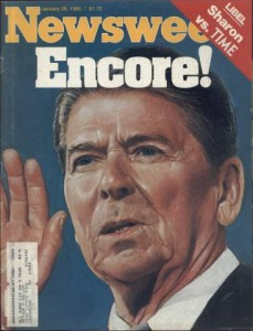 Ronald Reagan January 28 1985