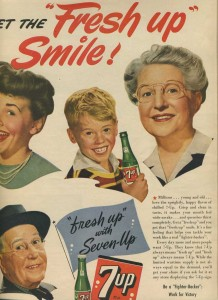 1944 7up advertisement
