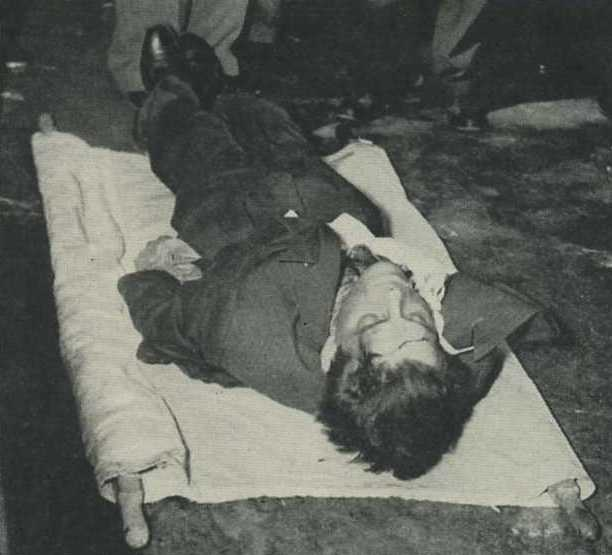 Mob Corpse in 1944 Life Magazine