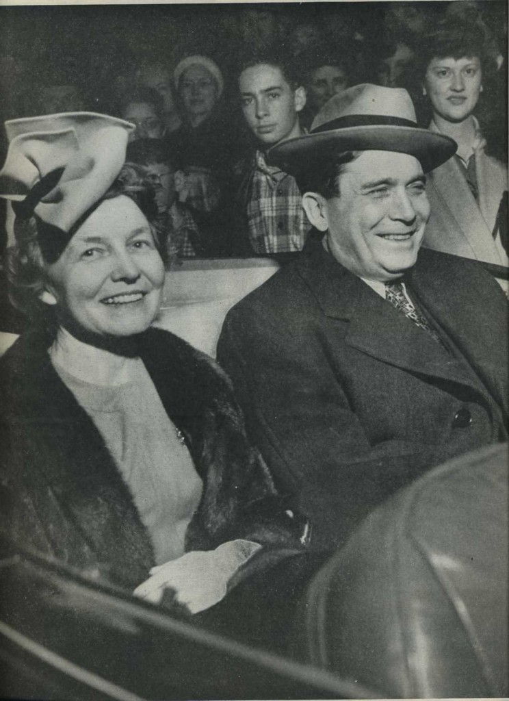 Wendell Willkie and wife in 1944 Life Magazine
