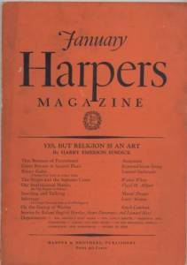 Harpers Magazine January 1931