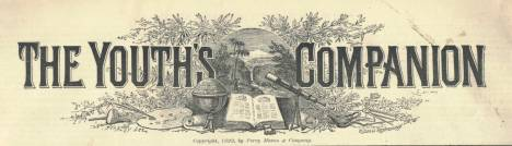 The Youths Companion masthead circa 1892