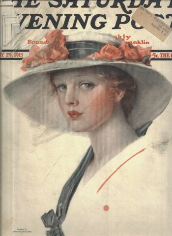 Saturday Evening Post, May 29, 1915, cover illustrated by Penrhyn Stanlaws