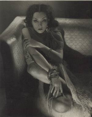 Lupe Velez photographed by Edward Steichen in June 1932 issue of Vanity Fair