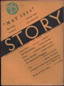 Story Magazine May 1934