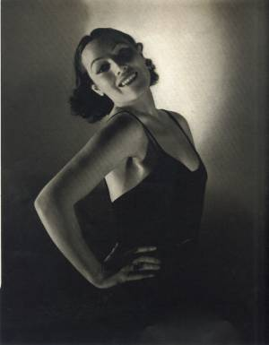 Dolores Del Rio photographed by Edward Steichen in March 1935 issue of Vanity Fair