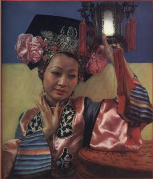 Anna May Wong photographed by Edward Steichen in March 1935 issue of Vanity Fair