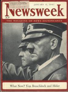 Adolf Hitler January 6 1941 Newsweek