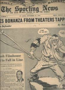 The Sporting News September 21 1949 issue