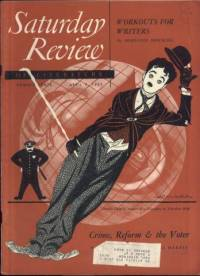 Charlie Chaplin on the April 17, 1951 Saturday Review of Literature