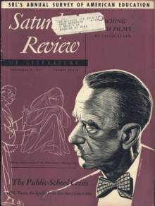 Thomas Mann on the September 8, 1951 Saturday Review of Literature