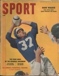 Sport Magazine January 1956 Doak Walker