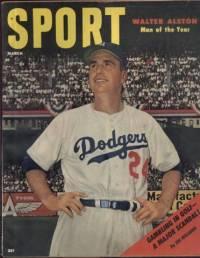 Sport Magazine March 1956 Walter Alston