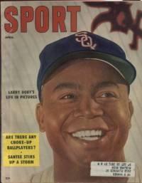 Sport Magazine April 1956 Larry Doby