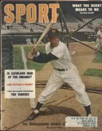 Sport Magazine June 1956 Willie Mays