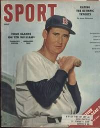 Sport Magazine July 1956 Ted Williams