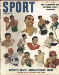 Sport Magazine September 1956 10th Anniversary