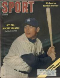 Sport Magazine October 1956 Mickey Mantle