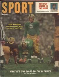 Sport Magazine November 1956 Paul Hornung