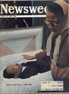 Newsweek Death of Martin Luther King Jr April 15 1968