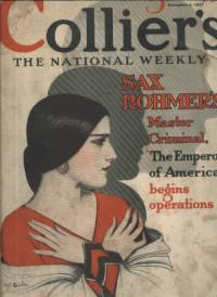 Colliers Magazine November 5 1927 cover