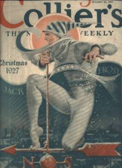 Cover of the December 24 1927 issue of Colliers Magazine
