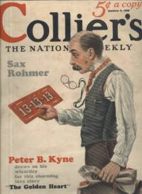 Colliers Magazine January 7 1928 cover