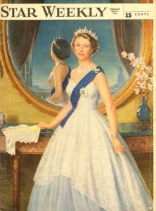 Queen Elizabeth II Star Weekly 1953