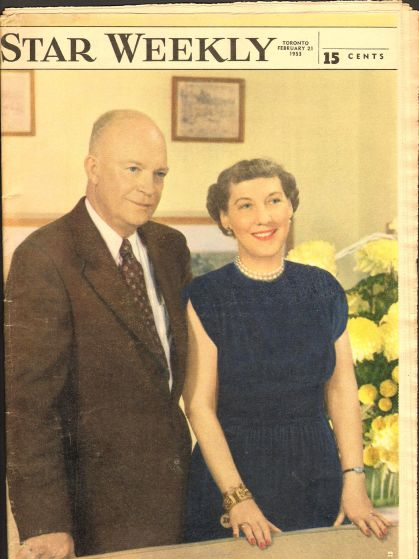 President and Mrs Dwight D Eisenhower
