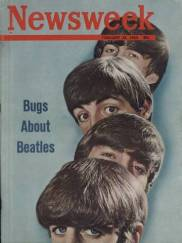 February 24, 1964 Newsweek featuring The Beatles on the cover