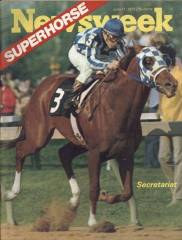 June 11, 1973 issue of Newsweek with Secretariat on the cover