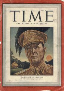 Cover of the December 29 1941 Time Magazine