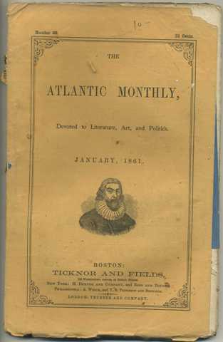 Atlantic Monthly January 1861