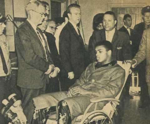 Muhammad Ali Hernia
