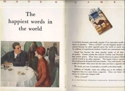 1927 Camel Ad
