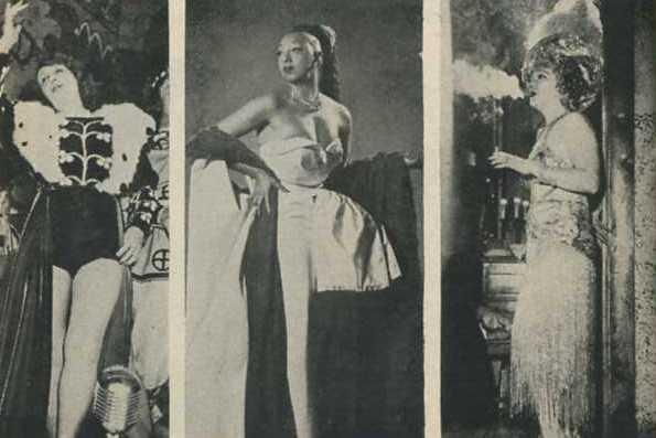Mistinguett Josephine Baker Gilda Gray
