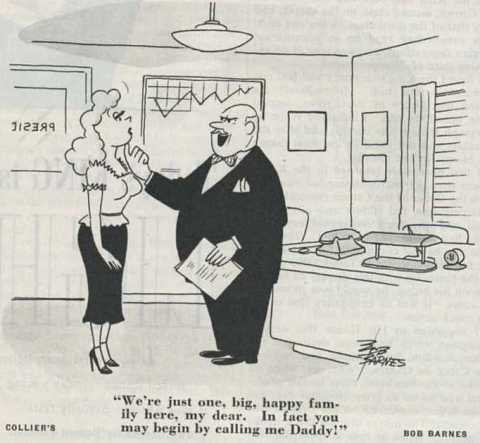 1951 Bob Barnes Colliers cartoon