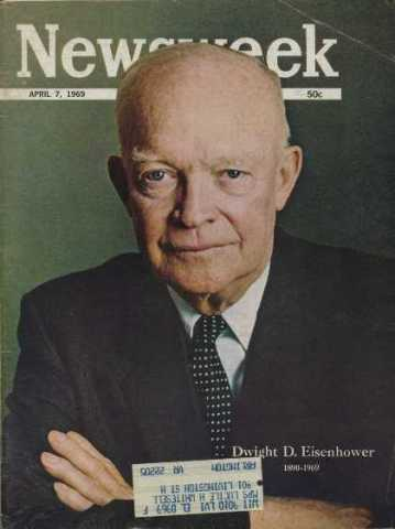 Dwight D Eisenhower 1890-1969 Newsweek