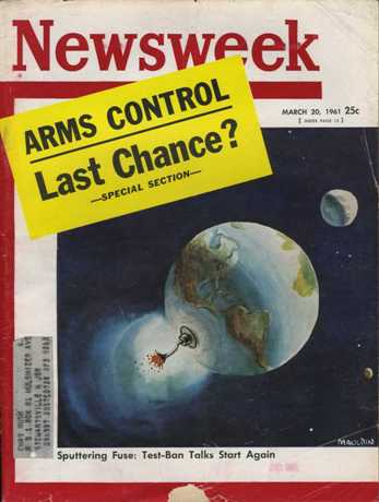 Cover of Newsweek March 20 1961
